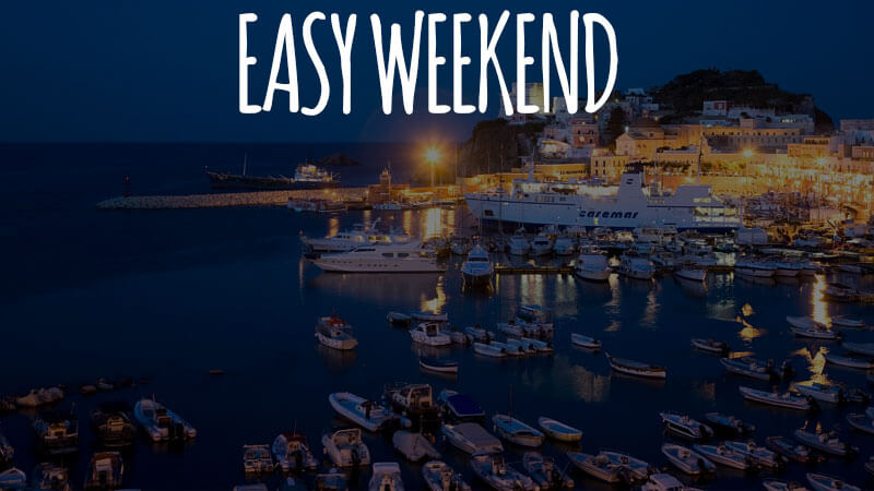 Weekend a Ponza in barca