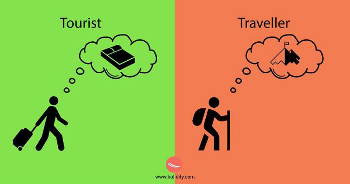 Turista vs Viaggiatore, le differenze