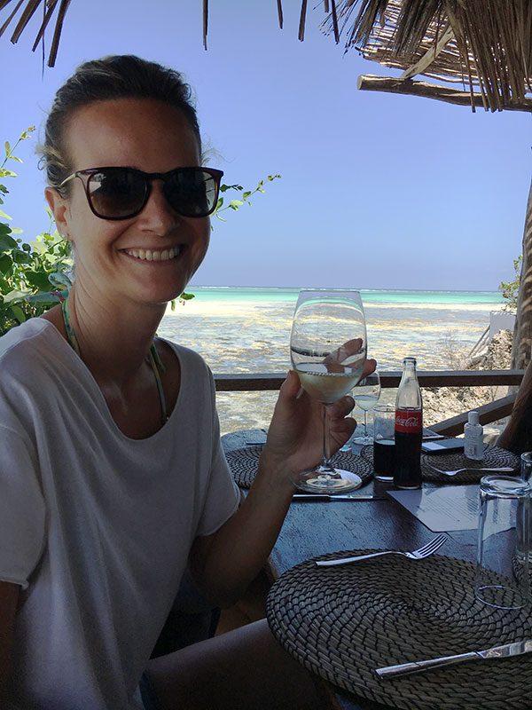 Pranzo al The Rock Restaurant Zanzibar