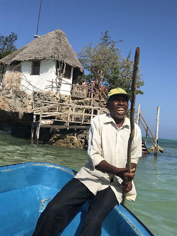Traghetto per il The Rock Zanzibar