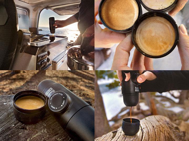 La soluzione per avere un caffè espresso a portata di viaggio