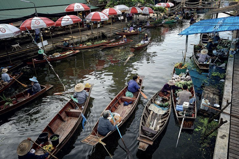 Samutsongkram Tha Kha Floating Market