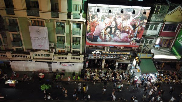 dove alloggiare a Bangkok, in Khaosan Road